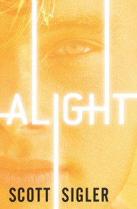 The cover of ALIGHT by Scott Sigler